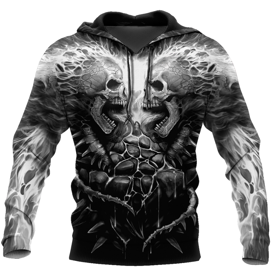 The Grim Reaper Fire Skull 3D All Over Printed Shirts For Men and Women - Amaze Style™-Apparel