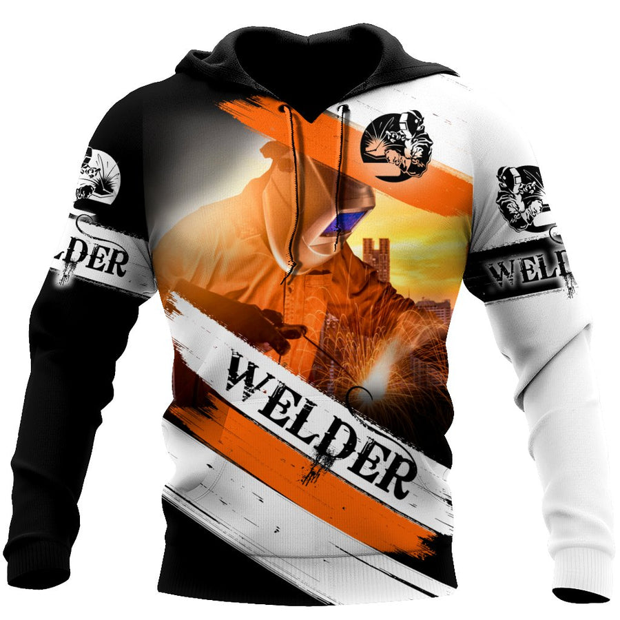 Premium Unisex All Over Printed Welder Shirts MEI - Amaze Style™-Apparel