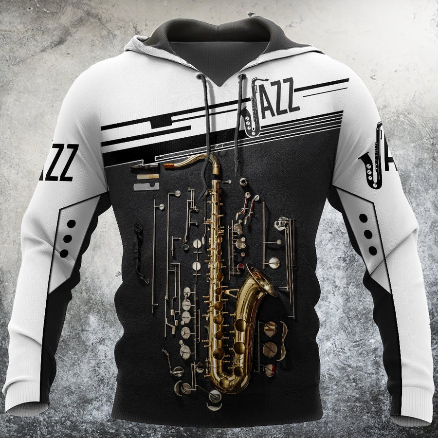 Saxophon music 3d hoodie full for men and women HG HAC21202 - Amaze Style™-Apparel