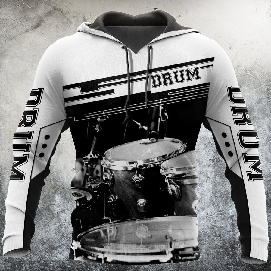 Drum music 3d hoodie shirt for men and women HG HAC71201 - Amaze Style™-Apparel