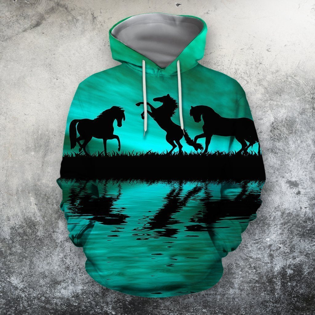 3D All Over Print  Animals Horse Hoodie - Amaze Style™