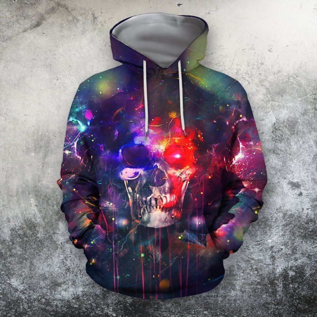 3D All Over Printing Skull Gothic Shirts - Amaze Style™
