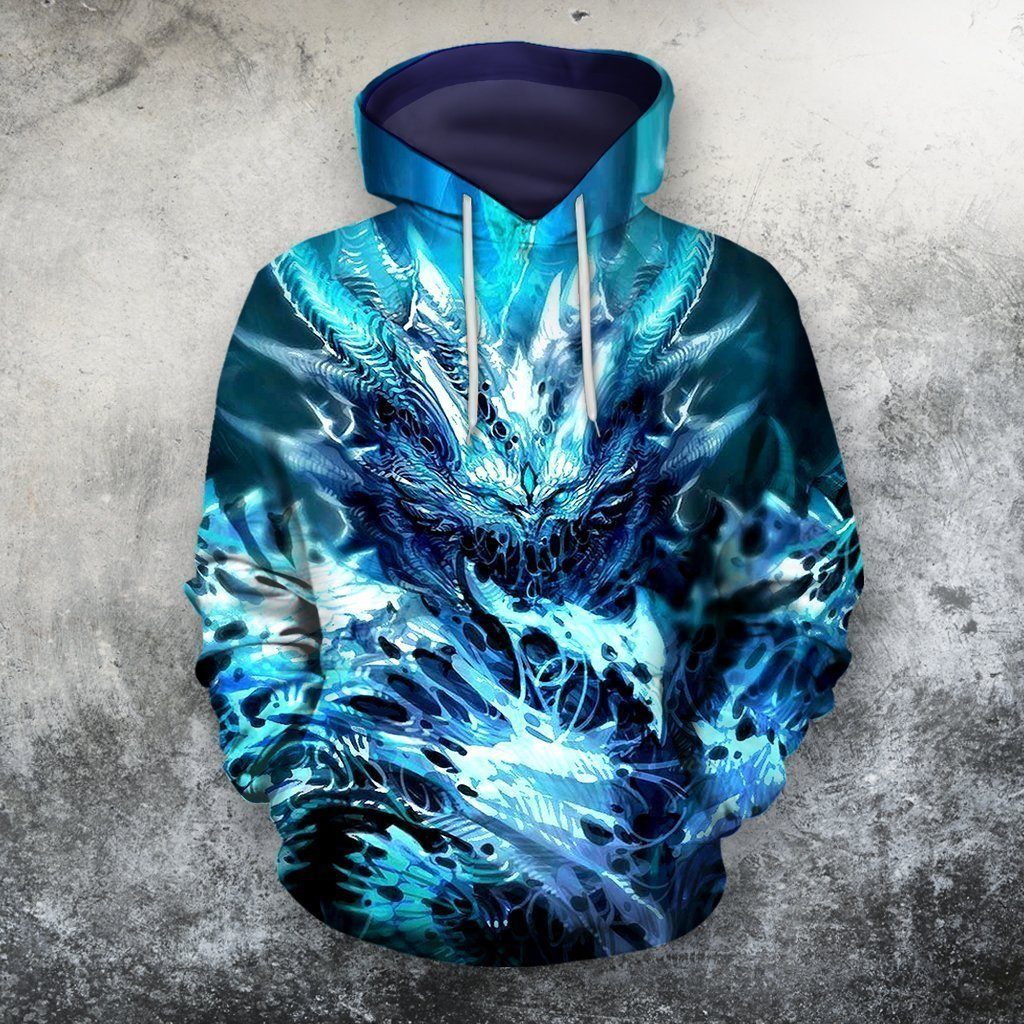 3D All Over Print Dragon Shirt 08 - Amaze Style™-Apparel