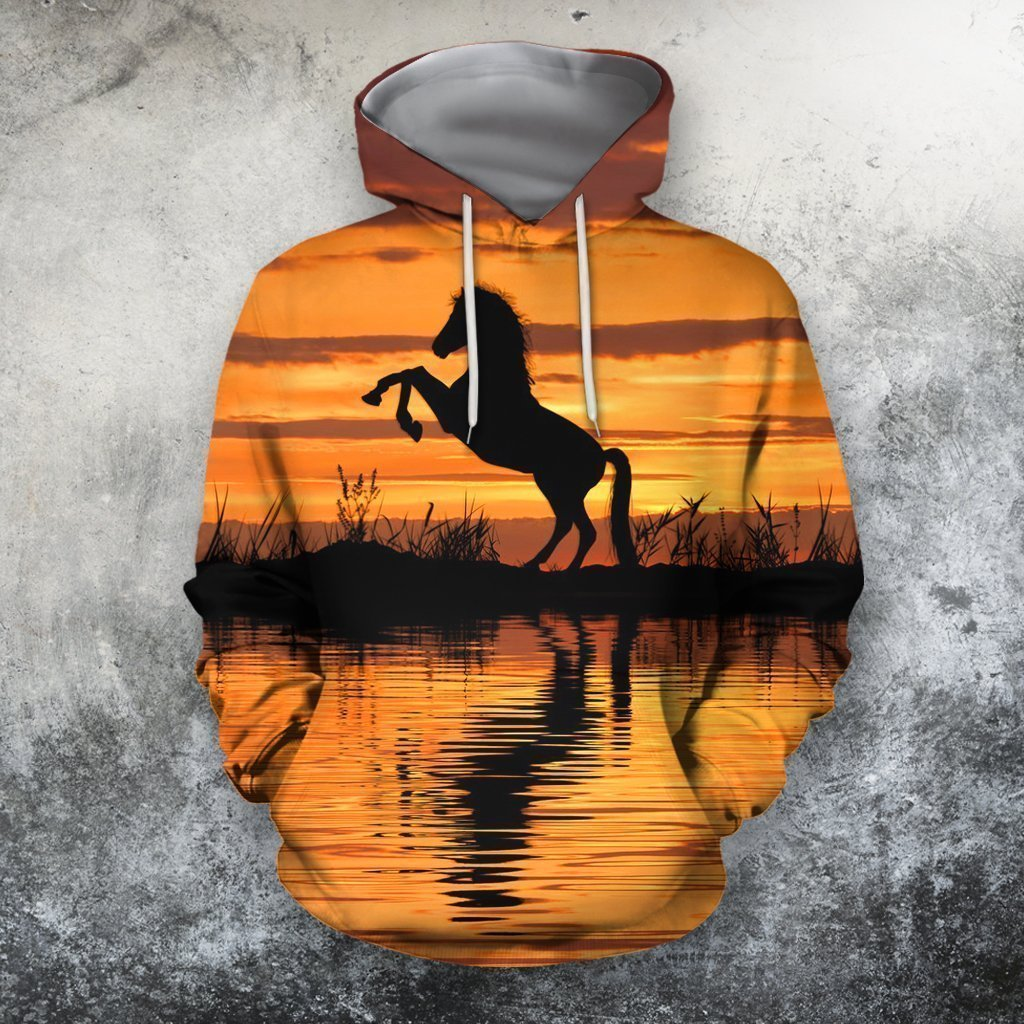All Over Print Horse Sunset - Amaze Style™