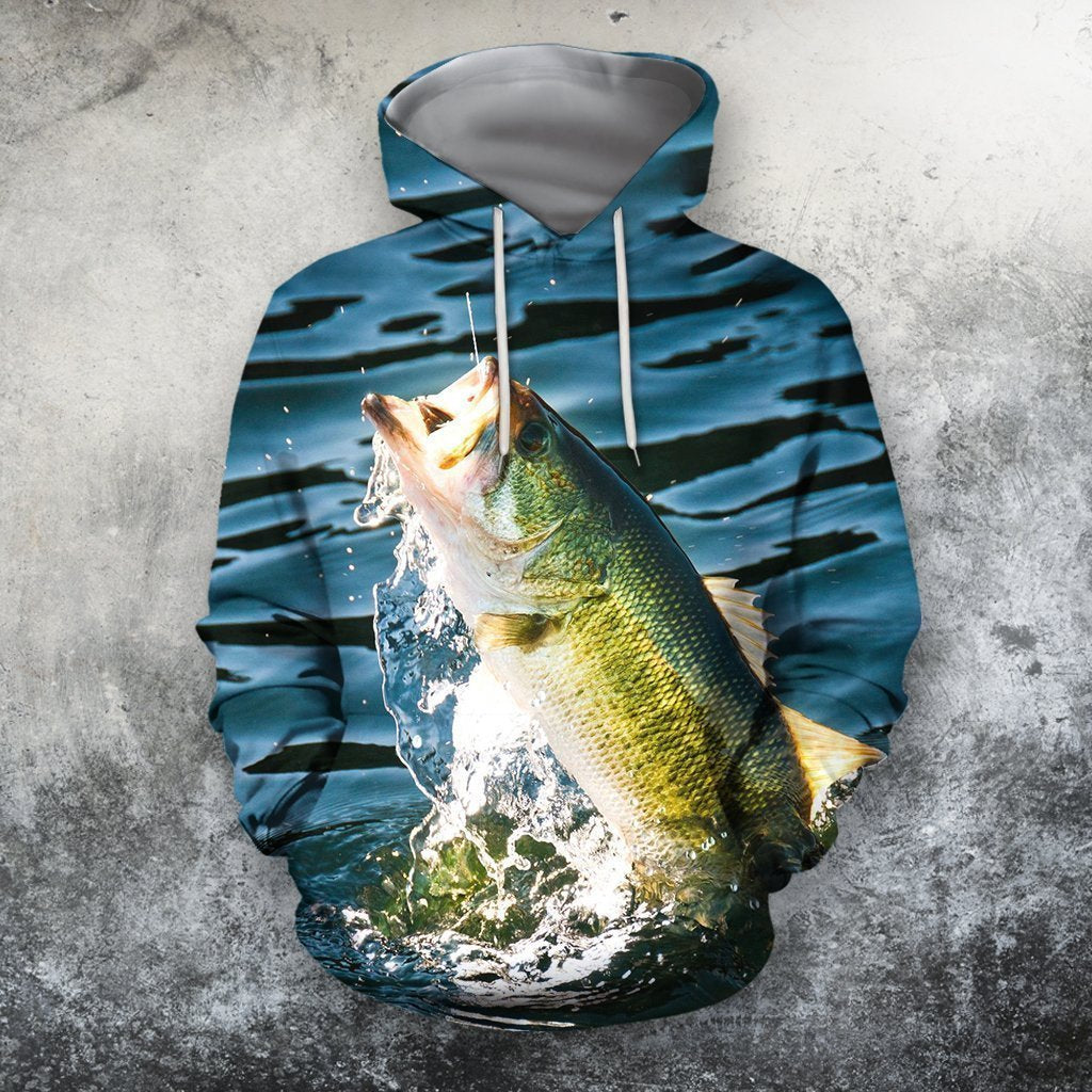 3D All Over Printing Bait Fishing - Amaze Style™-Apparel