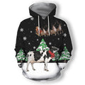 Dairy Cow For Christmas Clothes - Amaze Style™-Apparel