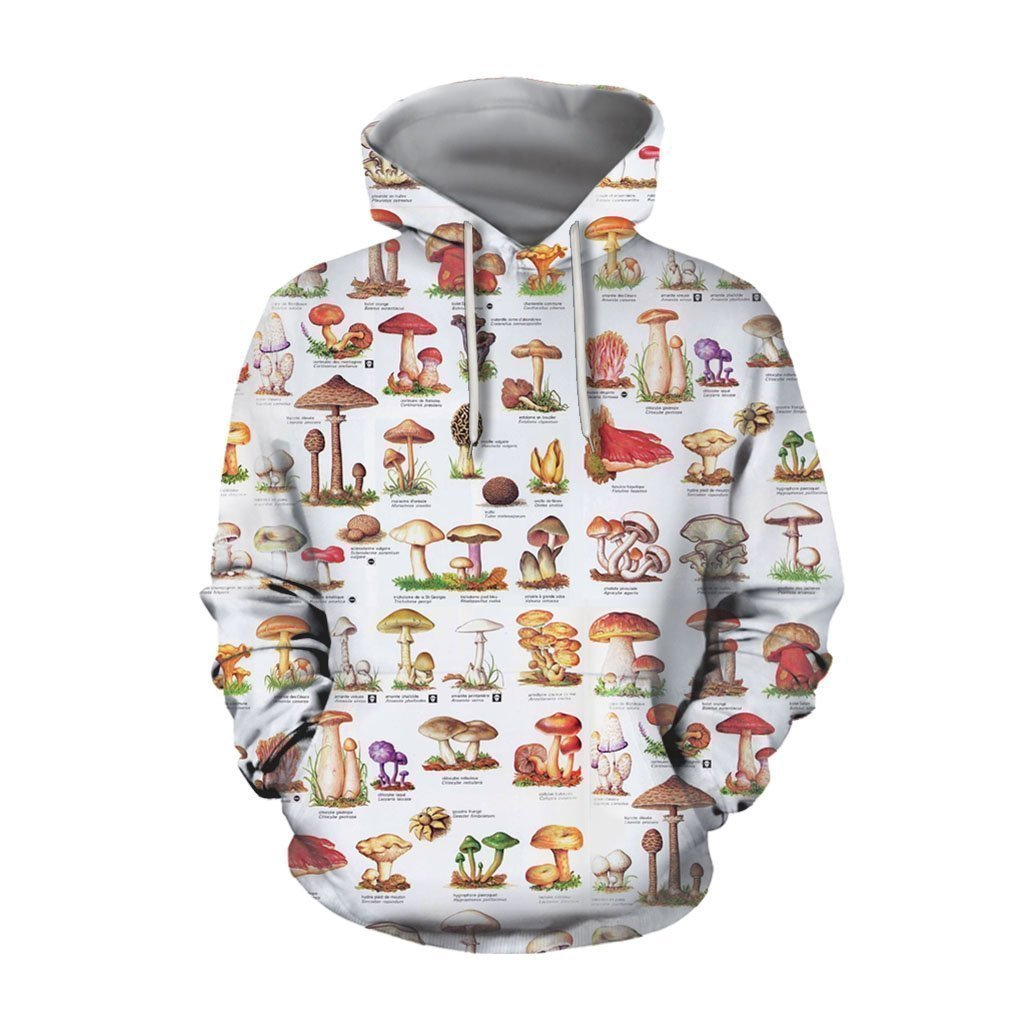 A Lot Of Mushroom Art  all over - Amaze Style™-Apparel