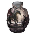 3D All Over Print Dragon Hoodie - Amaze Style™-Apparel
