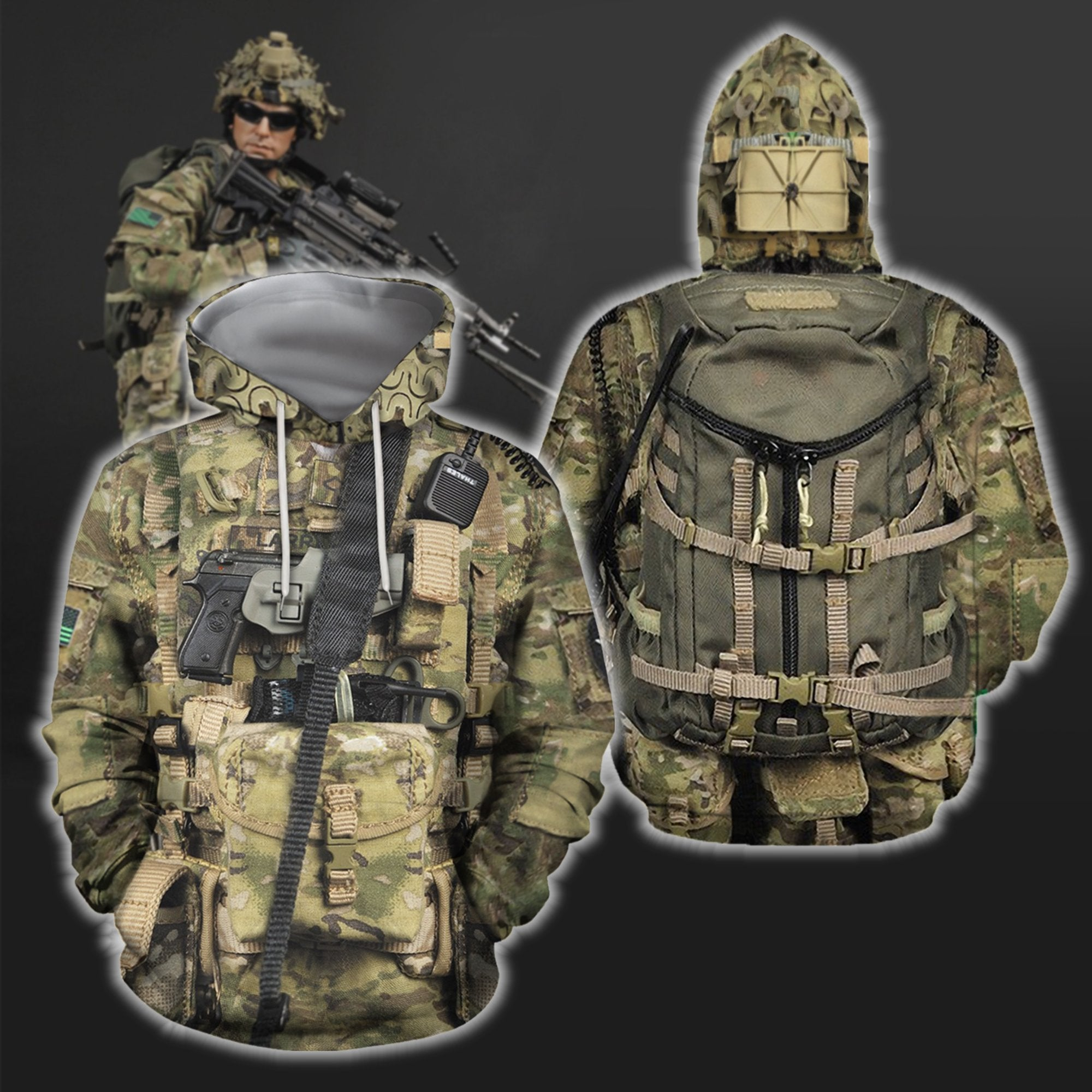 3D All Over Printed Navy SEAL Uniform - Amaze Style™-Apparel