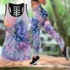 Beautiful Butterfly Combo Tank + Legging JJ080403 - Amaze Style™-Apparel