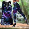 Beautiful Butterfly Combo Tank + Legging JJ100402 - Amaze Style™-Apparel