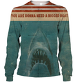3D All Over Print Shark Jaws Hoodie - Amaze Style™-Apparel