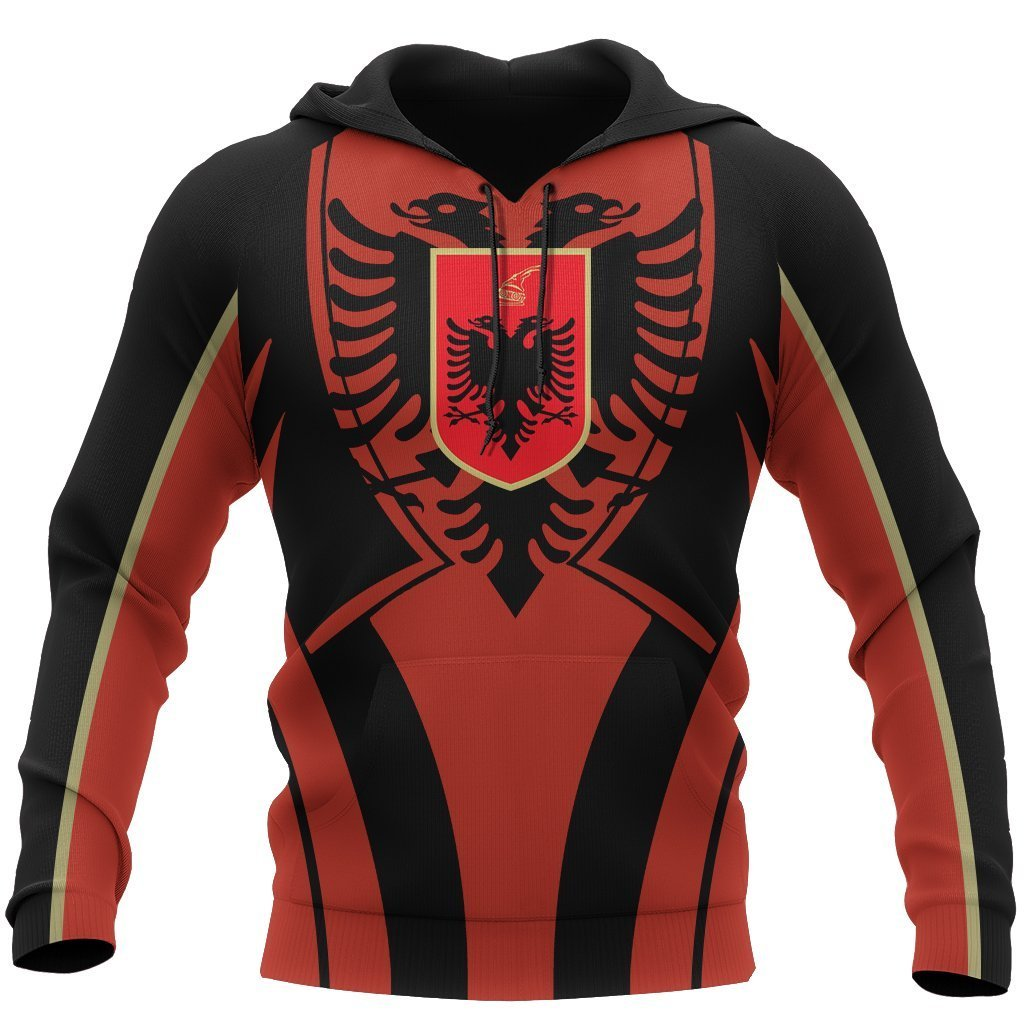 Albania In My Heart Hoodie NNK 1137 - Amaze Style™-Apparel