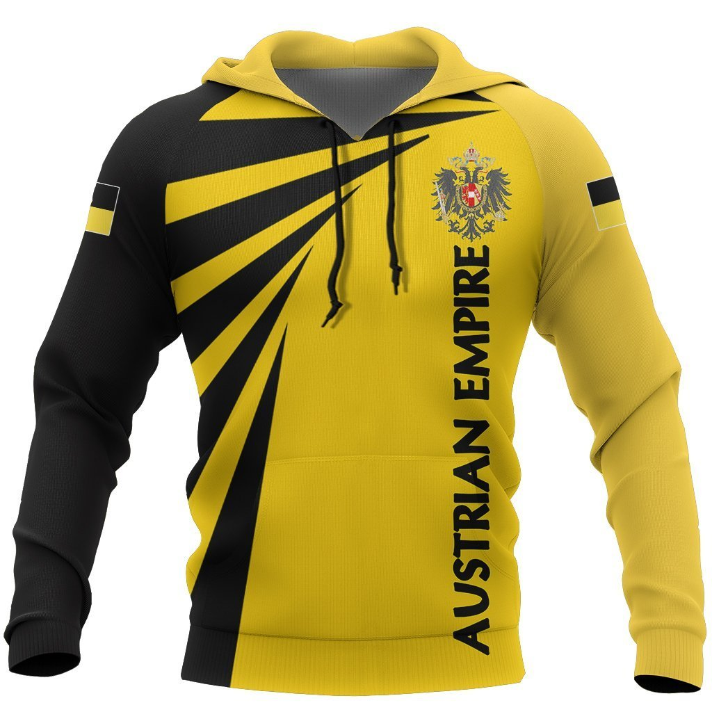 Austrian Empire Hoodie Coat Of Arms NVD1272 - Amaze Style™-Apparel
