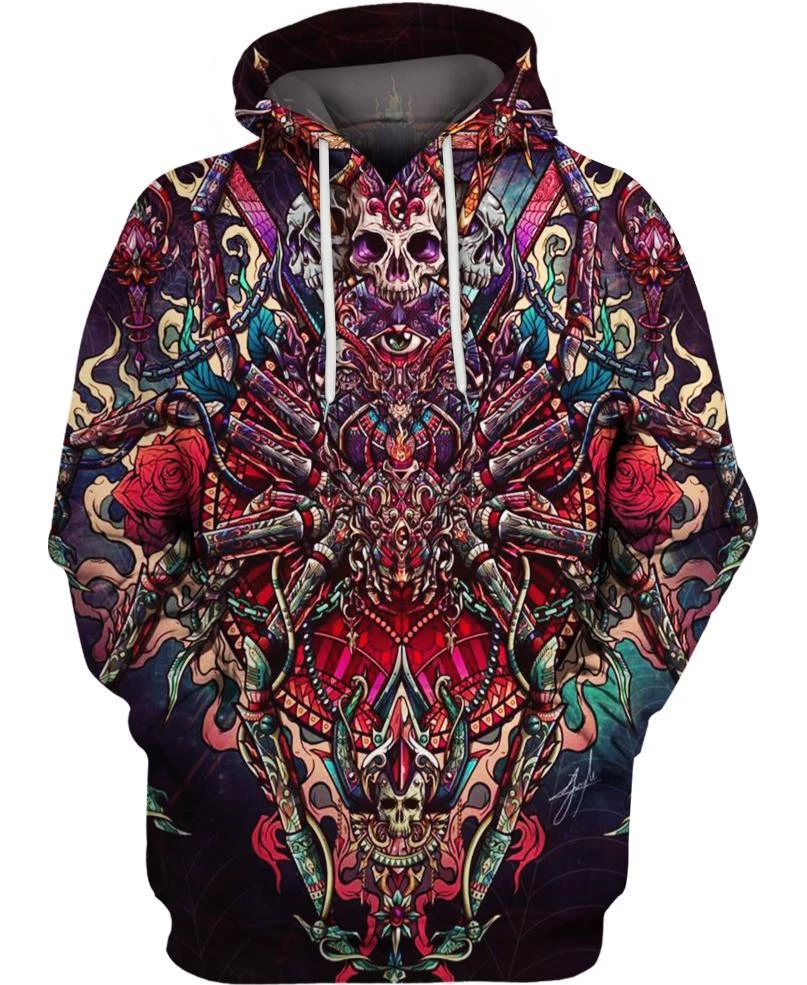 Spider Skull PL225 - Amaze Style™-Apparel