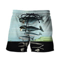3D All Over Printed Vintage Whales Shirts And Shorts - Amaze Style™