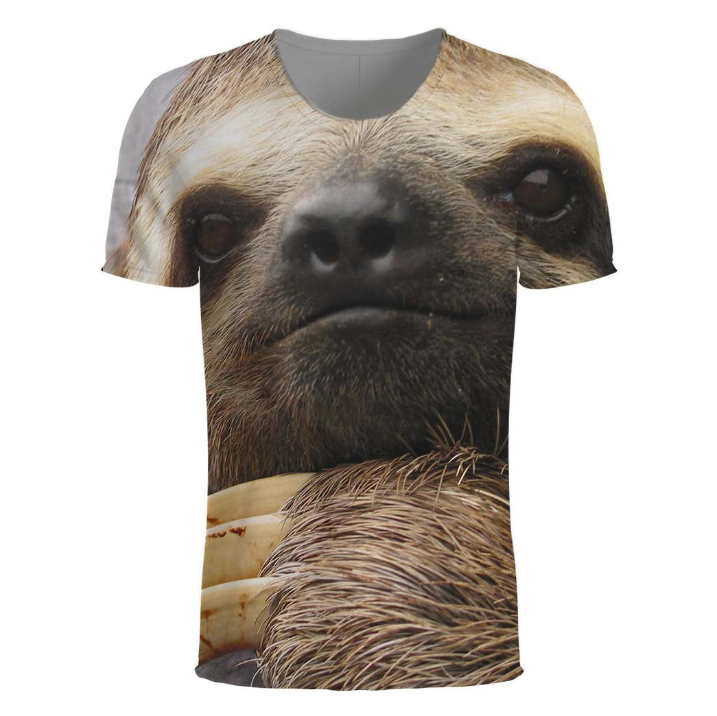 3D All Over Print Sloth Face Shirt - Amaze Style™