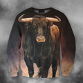 3D All Over Print Bull Art 6 - Amaze Style™-Apparel
