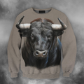 3D All Over Print Bull Art 1 - Amaze Style™-Apparel