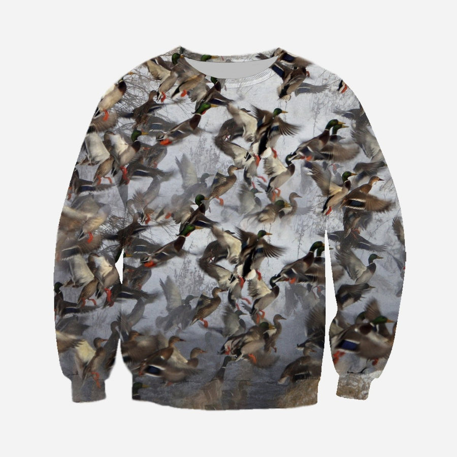 3D All Over Printed Duck Hunting Shirts - Amaze Style™-Apparel