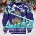 3D All Over Print Christmas Bus Hoodie - Amaze Style™-Apparel