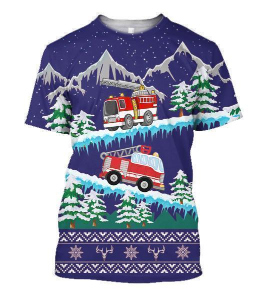 3D All Over Printed Firefighter - Amaze Style™-Apparel