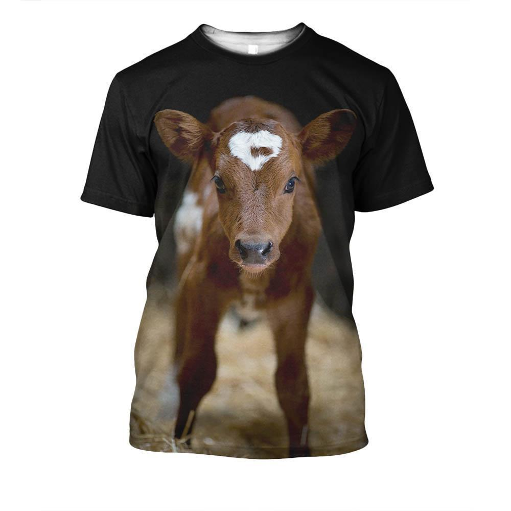 Beautiful Baby Cow Shirts - Amaze Style™-Apparel