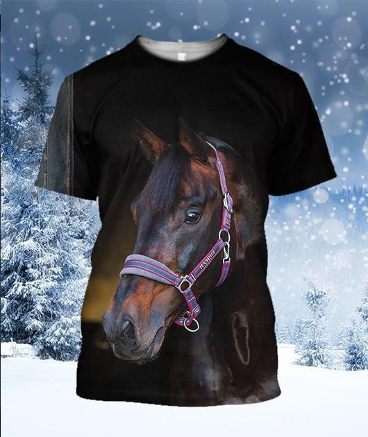 3D All Over Printed Beautiful Horse Shirts and Shorts - Amaze Style™-Apparel