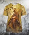 3D All Over Printed Knights Templar Shirts - Amaze Style™