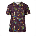 3D All Over Print Mushrooms and Blueberry Shirt - Amaze Style™