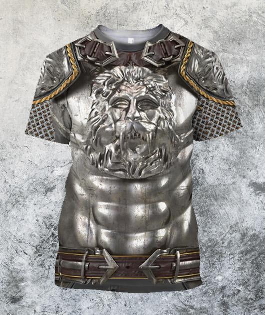 3D All Over Printed Knight Medieval Armor - Amaze Style™-Apparel