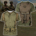 3D All Over Printed U.S. WWII Soldier Shirts - Amaze Style™
