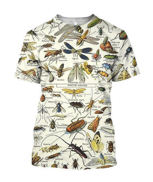 3D All Over Printed Insects Clothes - Amaze Style™