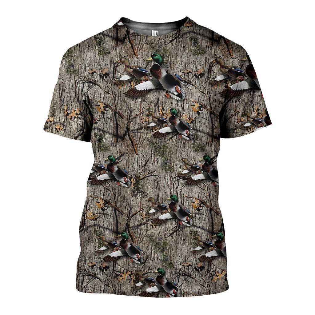 3D All Over Printed Hunting Duck Shirts - Amaze Style™-Apparel