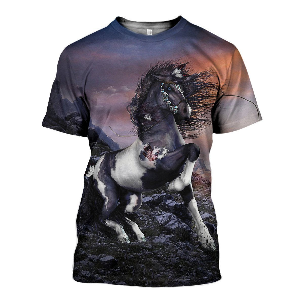 3D All Over Printed Horse Shirts and Shorts - Amaze Style™