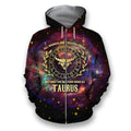 All Over Printed Taurus Horoscope Hoodie - Amaze Style™-Apparel