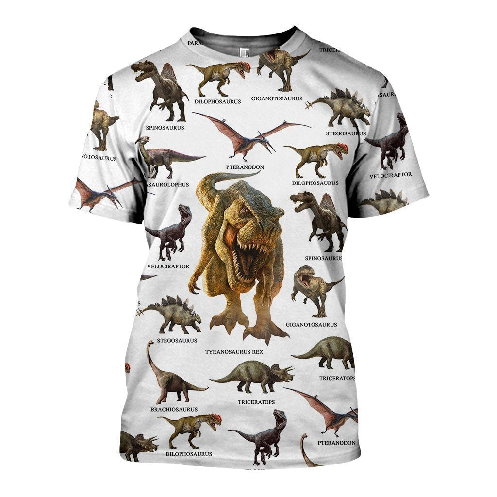 3D All Over Printed Dinosaurs Collection Shirts - Amaze Style™