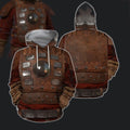 3D All Over Print Armor Mongol Warrior Hoodie - Amaze Style™