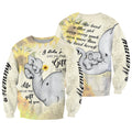 3D All Over Print Love Mom Elephant Hoodie - Amaze Style™