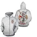 3D All Over Printed Knight Templar Art - Amaze Style™-Apparel
