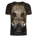 3D All Over Print Hunting Wild Boar Hoodie - Amaze Style™-Apparel