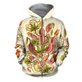 3D All Over Printed Carnivorous Plants Shirts And Shorts - Amaze Style™
