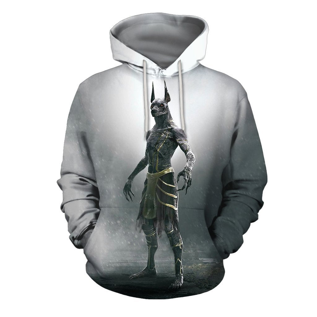 3D All Over Print Anubis Hoodie - Amaze Style™-Apparel