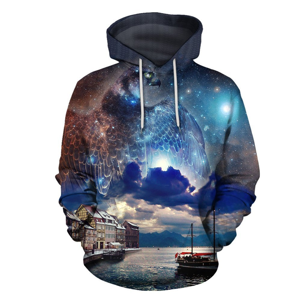 3D All Over Print Horus The Kingdom of Rome Hoodie - Amaze Style™-Apparel