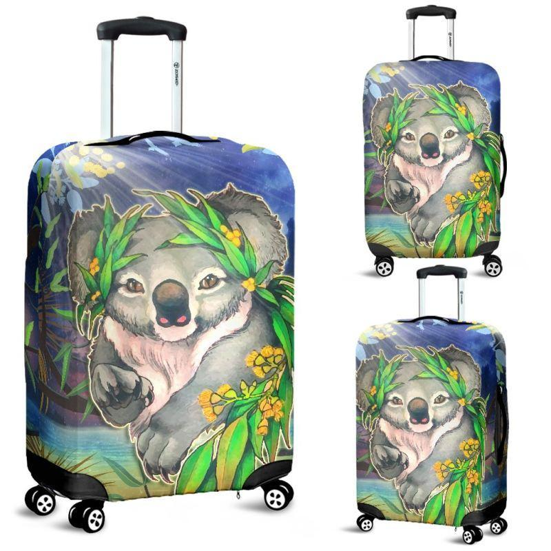 AUSTRALIA KOALA 02 LUGGAGE COVERS H4 - Amaze Style™