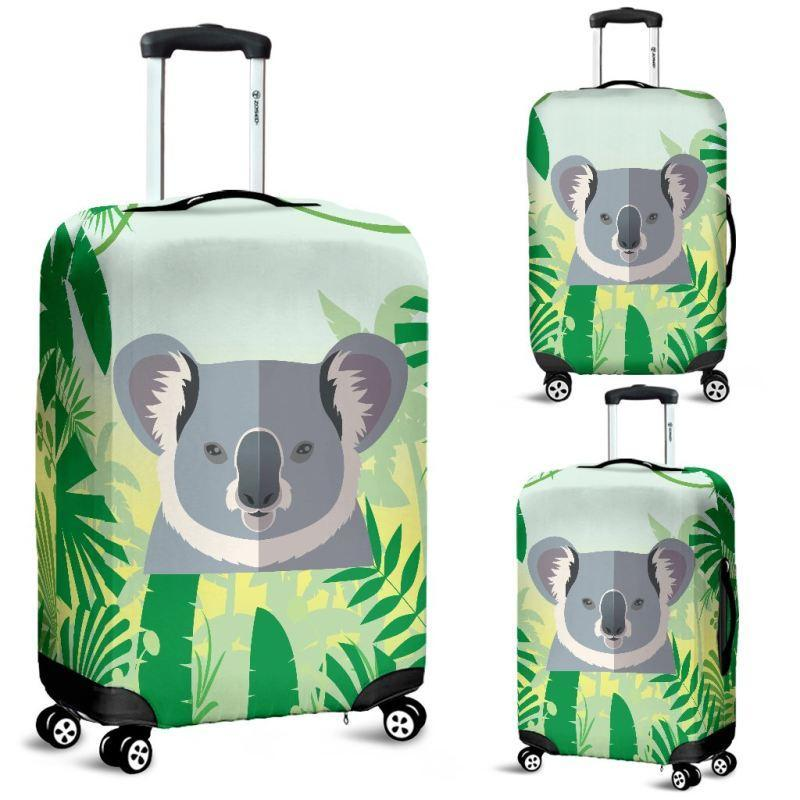 AUSTRALIA KOALA ON THE JUNGLE LUGGAGE COVER K5 - Amaze Style™-LUGGAGE COVERS