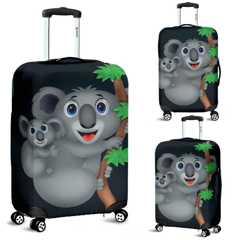 Australia Koala Symbol Luggage Cover 02 NN8 - Amaze Style™-LUGGAGE COVERS