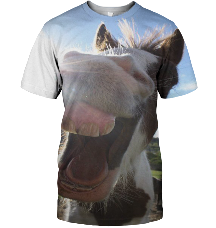 3D All Over Print Funny Donkey Shirt - Amaze Style™-Apparel