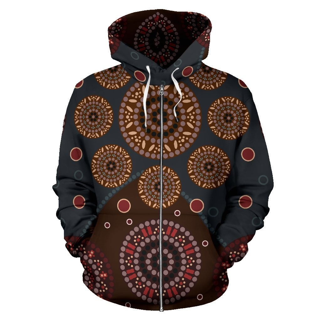 Beautiful Aboriginal All Over Hoodie NNK1447 - Amaze Style™-Apparel