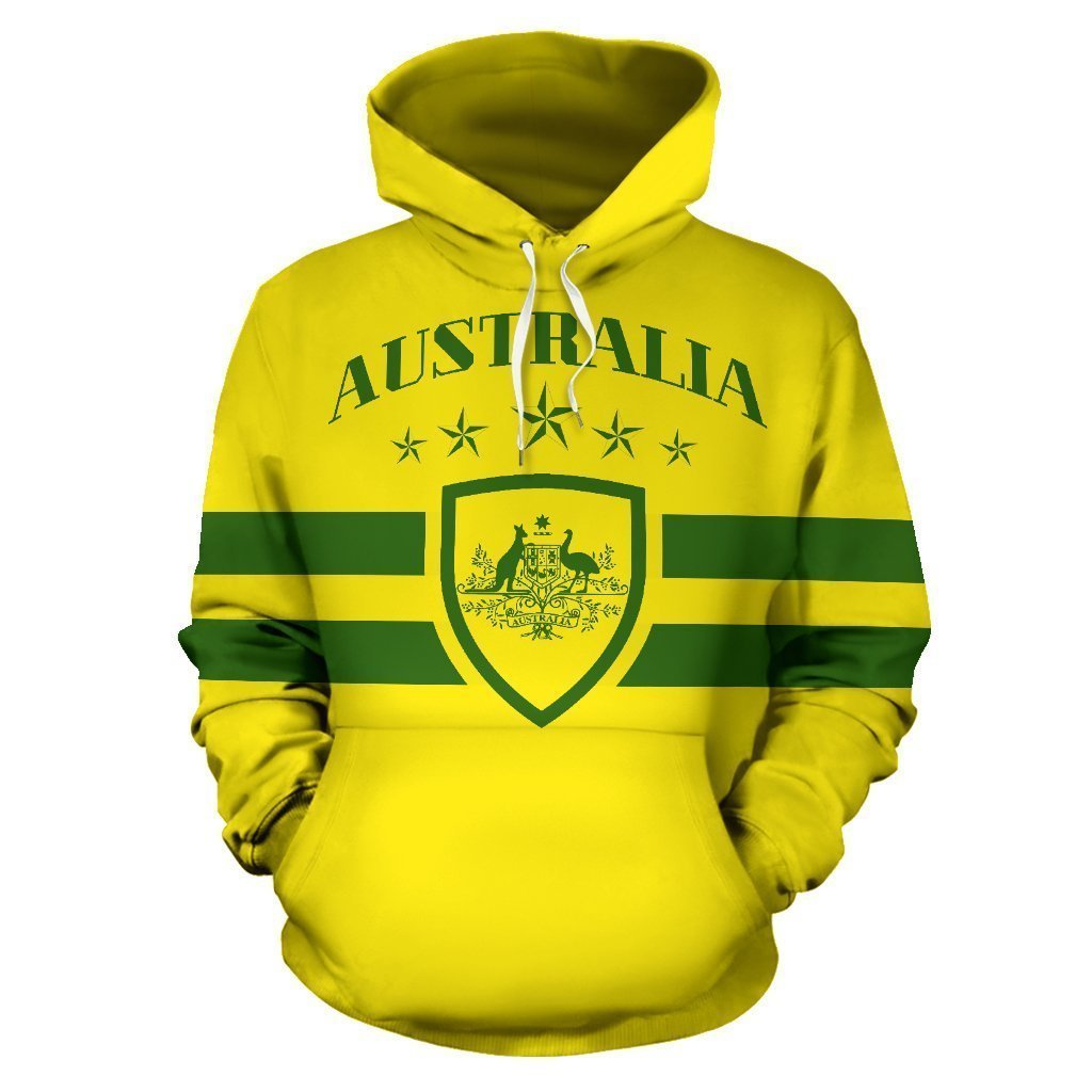 Australia Map All Over Hoodie  - NNK1469 - Amaze Style™-Apparel